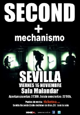 Concierto: Second en Sevilla (Malandar)