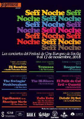Conciertos SEFF Noche 2018 del Festival Cine Europeo de Sevilla
