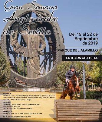 Cartel de la Gran Semana Anglo-Árabe de Sevilla 2019