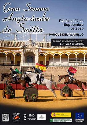 Cartel de la Gran Semana Anglo-Árabe de Sevilla 2020