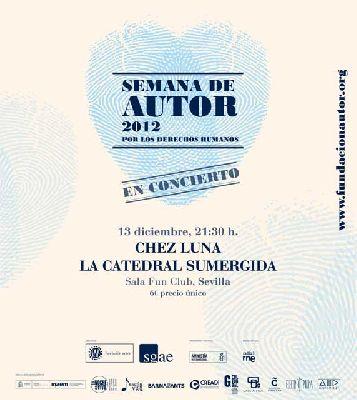 Concierto: Chez Luna y La Catedral Sumergida (FunClub)