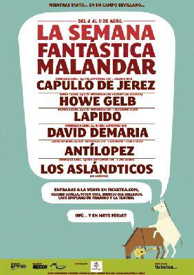Conciertos: Semana Fantástica en la sala Malandar de Sevilla
