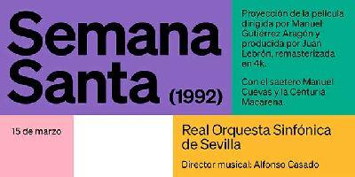 Cartel del concierto Semana Santa (1992)