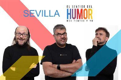 Cartel de la segunda gira de El sentido del humor: Dos tontos y yo en Sevilla