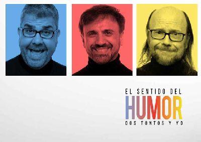 Cartel del El sentido del humor: Dos tontos y yo