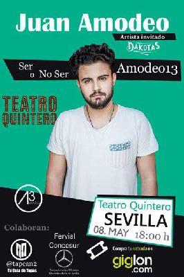 Humor: Ser o no ser Amodeo 13 en el Teatro Quintero Sevilla