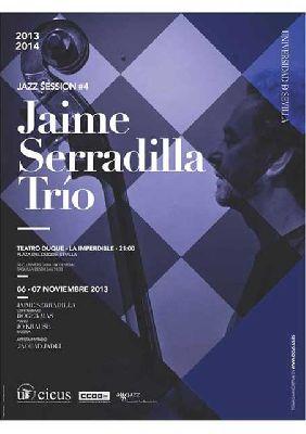 Concierto: Jaime Serradilla Trío en La Imperdible de Sevilla