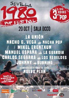 Concierto: Sevilla 1980 Pop Festival 2017