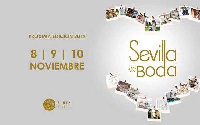 Cartel de la vigésimo tercera edición Sevilla de Boda en Fibes Sevilla
