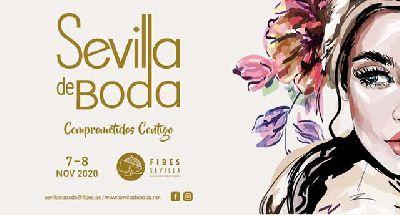 Cartel de la vigésimo cuarta edición Sevilla de Boda en Fibes Sevilla