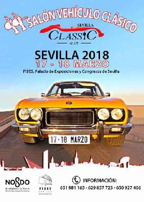 II Salón del Vehículo Clásico, Sevilla Classic Gas 2018