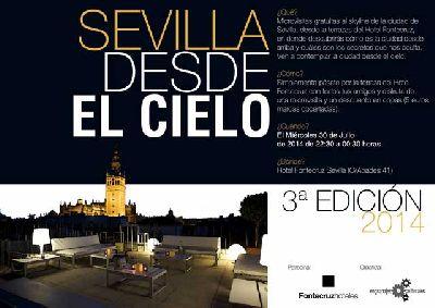 Sevilla desde el cielo en Hotel Fontecruz (julio 2014)