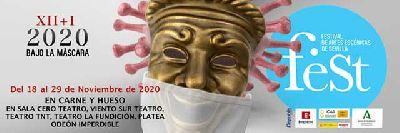 Cartel del Festival de Artes Escénicas de Sevilla, Sevilla feSt 2020
