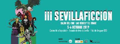 Cartel de Sevilla Ficción en Sevilla 2019