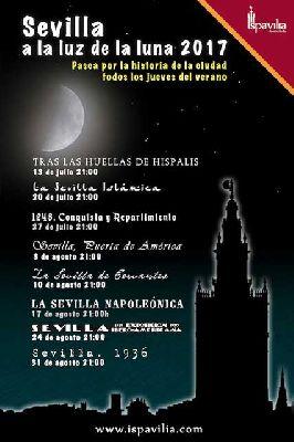 Rutas Sevilla a la luz la luna 2017 de Ispavilia