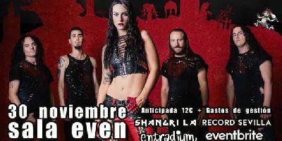 Cartel del concierto de SevillaMetal Fest en la Sala Even Sevilla 2019