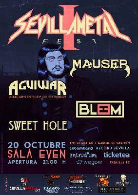 Concierto: SevillaMetal Fest en la Sala Even Sevilla 2018