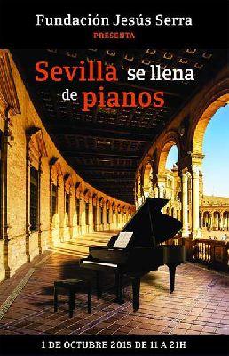 Sevilla se llena de pianos
