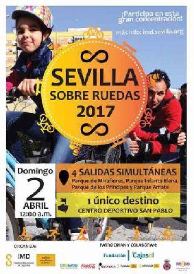 Sevilla sobre ruedas (abril 2017)
