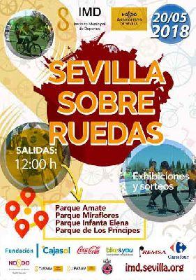 Sevilla sobre ruedas (mayo 2018)