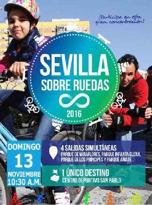Sevilla sobre ruedas (noviembre 2016)