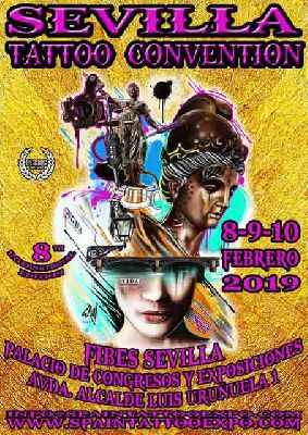 Cartel de la Sevilla Tattoo Convention 2019
