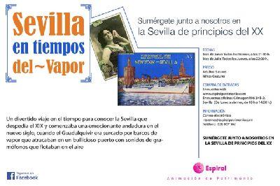 Visitas nocturnas Sevilla en tiempos del vapor