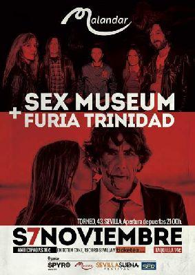 Concierto: Sex Museum y Furia Trinidad en Malandar Sevilla