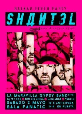 Concierto: Shantel en la Sala Fanatic de Sevilla (mayo 2015)