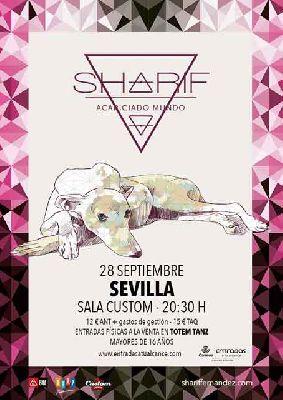 Concierto: Sharif en Custom Sevilla 2018