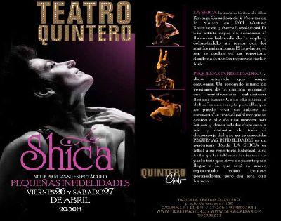 Teatro: Pequeñas infidelidades de La Shica en el Quintero Sevilla