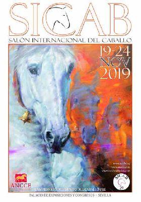 Cartel del Salón Internacional del Caballo (SICAB) en Fibes en Sevilla 2019