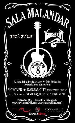 Concierto: Sickover y Kansas City en Malandar Sevilla
