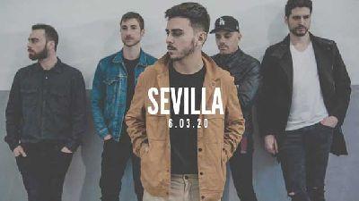 Cartel del concierto del grupo Sienna en FunClub Sevilla 2020