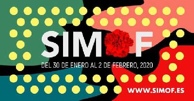 Cartel de la XXVI edición del Salón Internacional de la Moda Flamenca de Sevilla SIMOF
