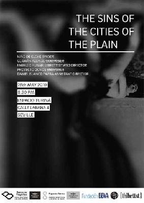 Cartel del estreno de The Sins of the Cities of the Plain