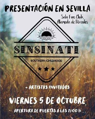 Concierto: Sinsinati en FunClub Sevilla 2018