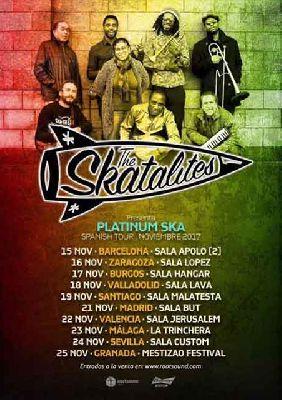 Concierto: The Skatalites en Custom Sevilla 2017