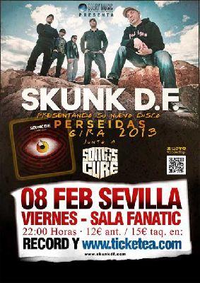 Concierto: Skunk D.F. en Fanatic Sevilla