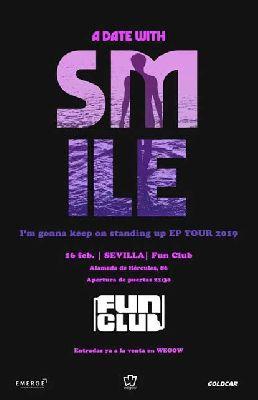 Cartel del concierto de Smile en FunClub Sevilla 2019