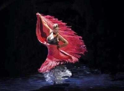 Foto promocional del espectáculo Sombras de Sara Baras