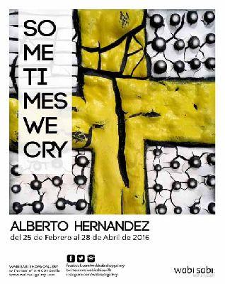 Exposición: Sometimes We Cry en Wabi Sabi Sevilla