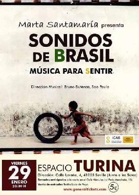Concierto: Sonidos de Brasil en la Sala Turina de Sevilla