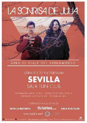 Concierto: La sonrisa de Julia en FunClub Sevilla