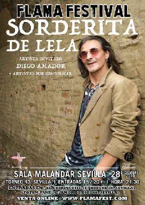 Concierto: Sorderita de Lela en Malandar Sevilla 2018