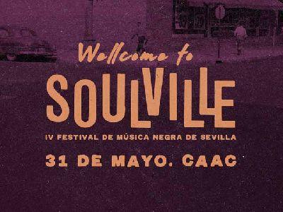 Cartel del Soulville Festival mayo 2019