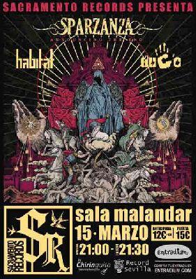Concierto: Sparzanza en Malandar Sevilla (marzo 2018)