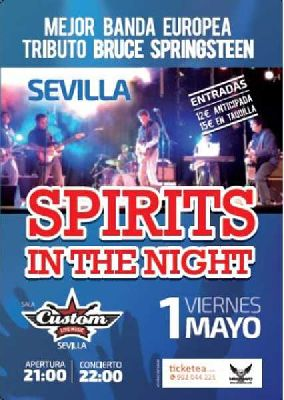 Concierto: Spirits In The Night en Custom Sevilla 2015
