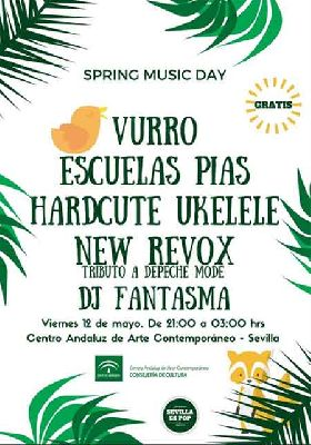 Festival Spring Music Day 2017 en el CAAC Sevilla