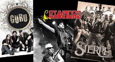 Concierto: Stingers, Guru y Sierpe en Custom Sevilla 2017